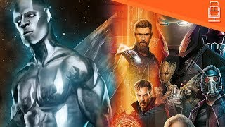 Silver Surfer Shows up in Avengers Infinity War Cast List