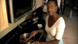 Rhubarb And Mixed Berries Wontons