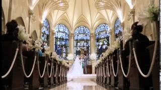 青山セントグレース大聖堂 結婚式 エンドロール