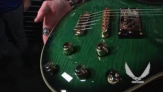 NAMM 2018 Dean Guitars-Icon Dean Custom Run Trans Green