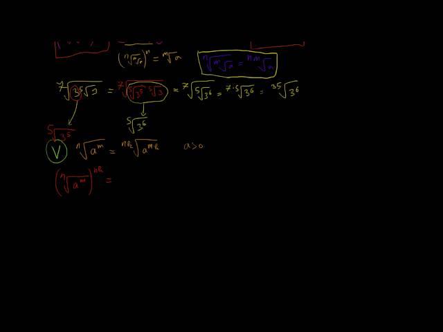 Azonosságok az n-edik gyökvonással kapcsolatosan (3. rész)