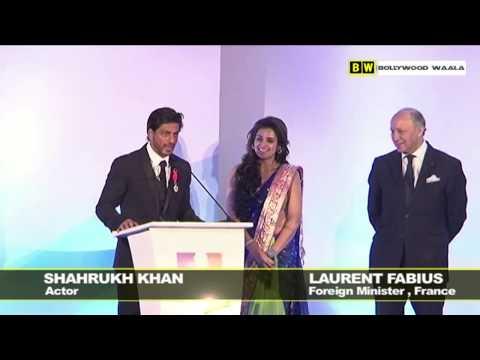 Shahrukh Khan Speaks French
