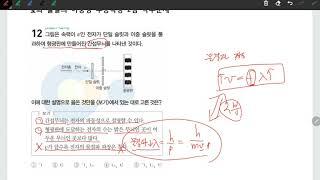 [물리학1 연습] 빛과 물질의 이중성 수능특강 문제 풀…