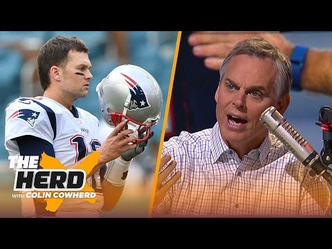 Colin Cowherd insists the Patriots are wasting Brady's final years & Defends Big Ben | NFL |THE HERD