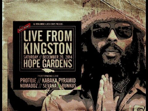 PROTOJE LIVE FROM KINGSTON at HOPE GARDENS 20:12:2014