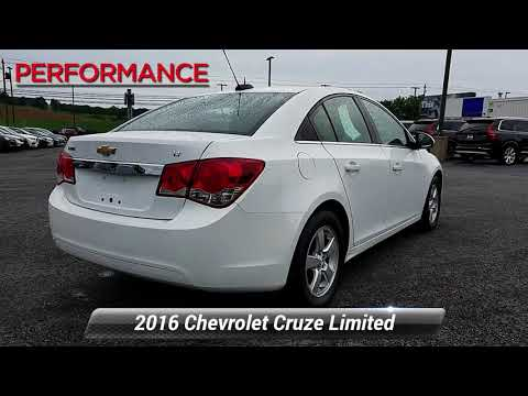 Used 2016 Chevrolet Cruze Limited LT, Sinking Spring, PA VDH7383A