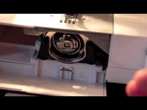 Ober- und Unterfaden in Nähmaschine einlegen   Singer Tradition 2273