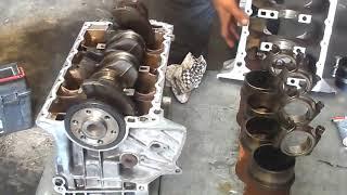 Assembler moteur Peugeot de A à Z - تجميع محرك بيجو بنزين  من الألف إلى الياء