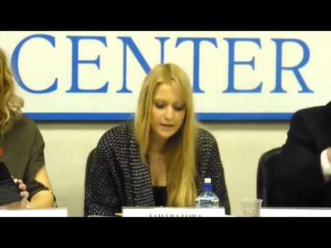 Выступление Яны Лантратовой на круглом столе по ювенальной юстиции 24 января 2014