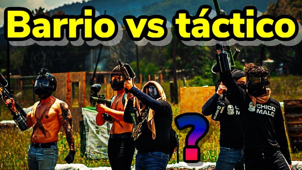 BARRIO vs TÁCTICO!Detrás de cámaras!