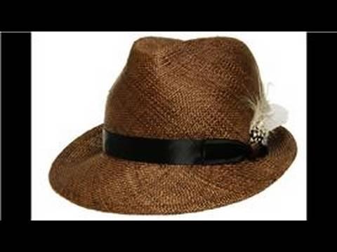 Vintage & World-Wide Fashion : Men's Vintage Straw Hats