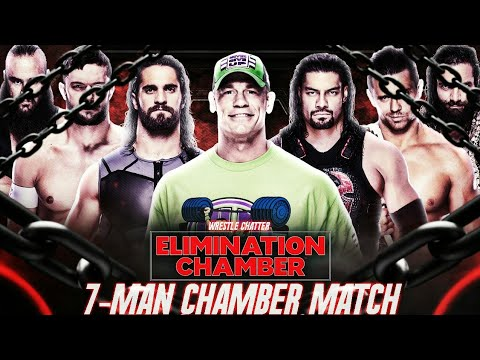 7 Man Elimination Chamber 2018 Winner Predictions ! WWE Elimination Chamber 2018 Predictions Winner