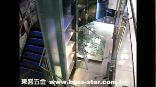 東盛五金 玻璃回歸鉸錬 www.boss-star.com.tw