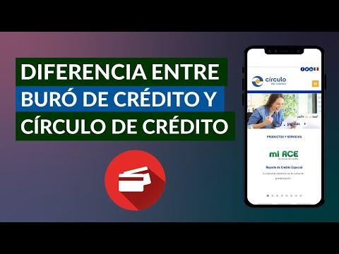 Qué Diferencia hay Entre Buró de Crédito y Círculo de Crédito