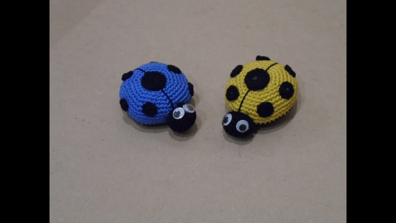 Tutorial Coccinella In Amigurumi