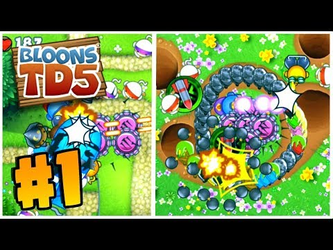 SO MANY NEW MAPS | Bloons Tower Defense 5 | BTD 5 Gameplay Part 1