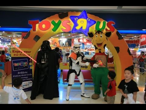 Toy Hunting At Toys R Us Singapore With Danish Amp Aniko