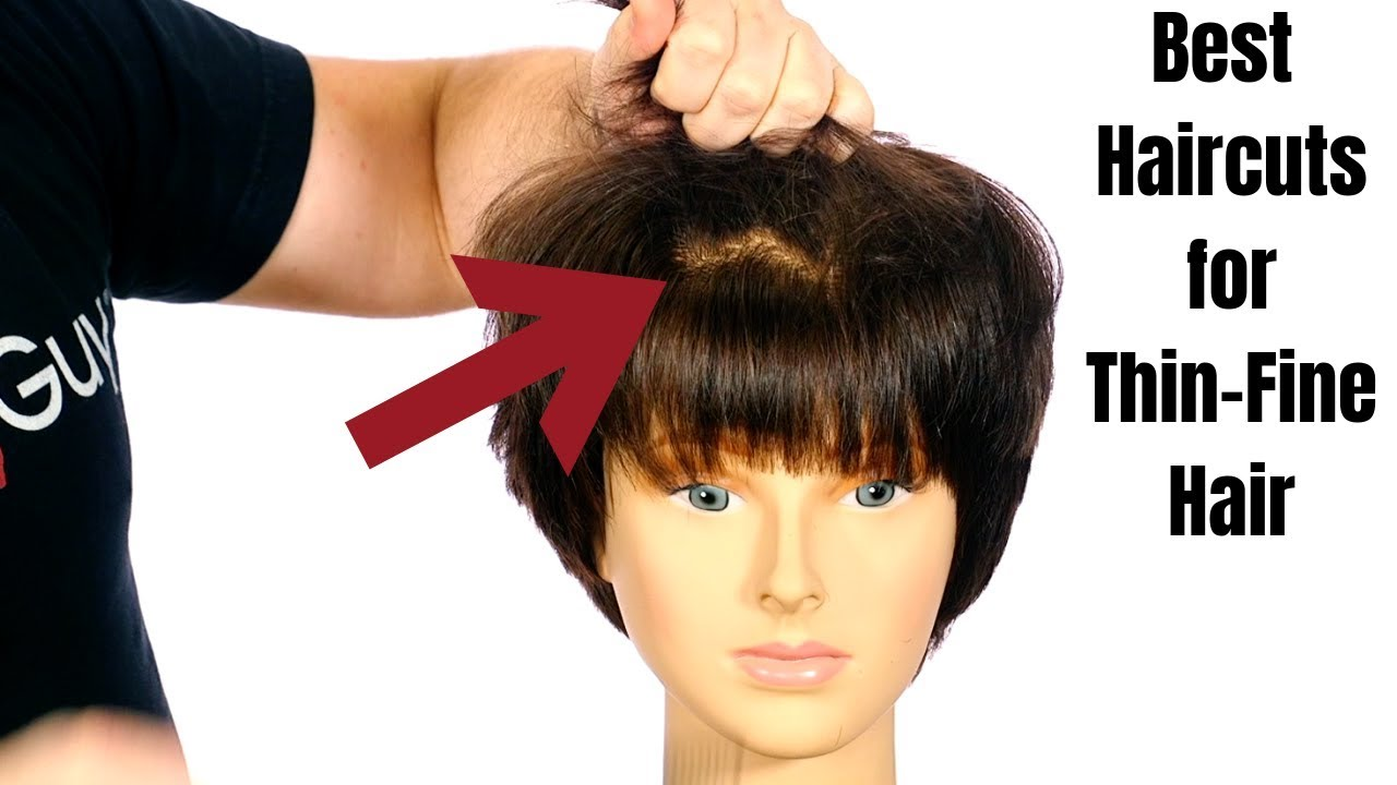 Haircuts for Thin Hair - TheSalonGuy