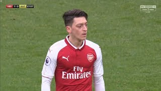 Mesut Özil vs Watford (Home) 17-18 HD 1080p