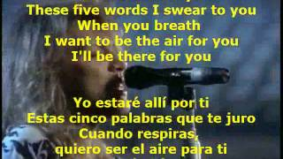 I`LL BE THERE FOR YOU - Bon Jovi (LETRA)