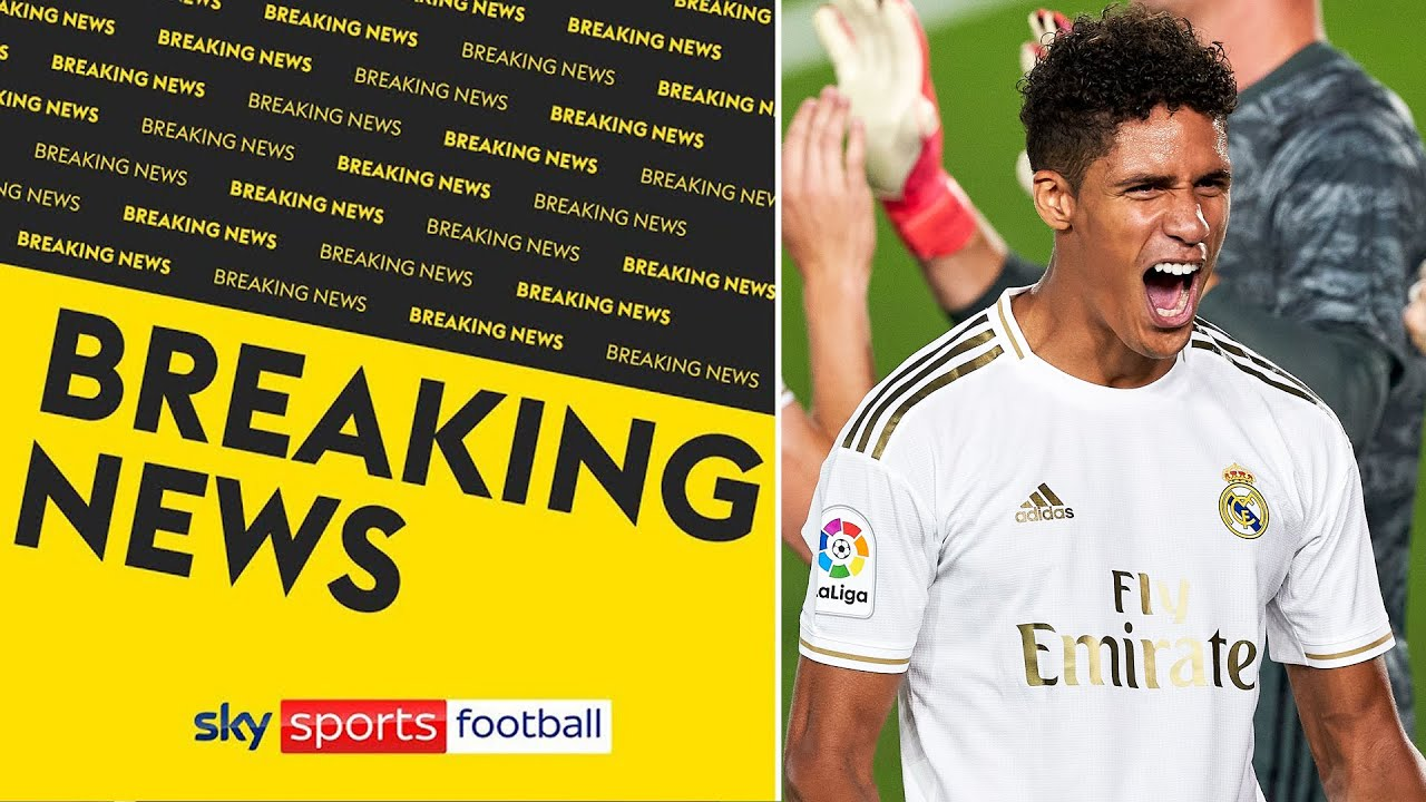 Raphaël Varane close to personal terms agreement with Man United | Dharmesh Sheth reveals details 📝