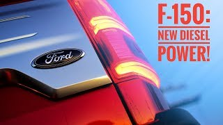 2018 Ford F-150 Diesel (Power Stroke V6) Test Drive Review
