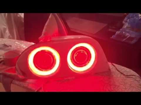 r33 bcnr33 led tail light test youtube. Black Bedroom Furniture Sets. Home Design Ideas