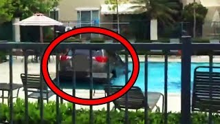 Top 15 Most Scary Videos Caught at Swimming Pools