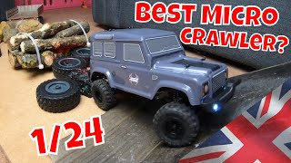 RGT Aventurer, 1/24 Scale. Worlds best cheap Micro Crawler? Mini Land Rover Defender.
