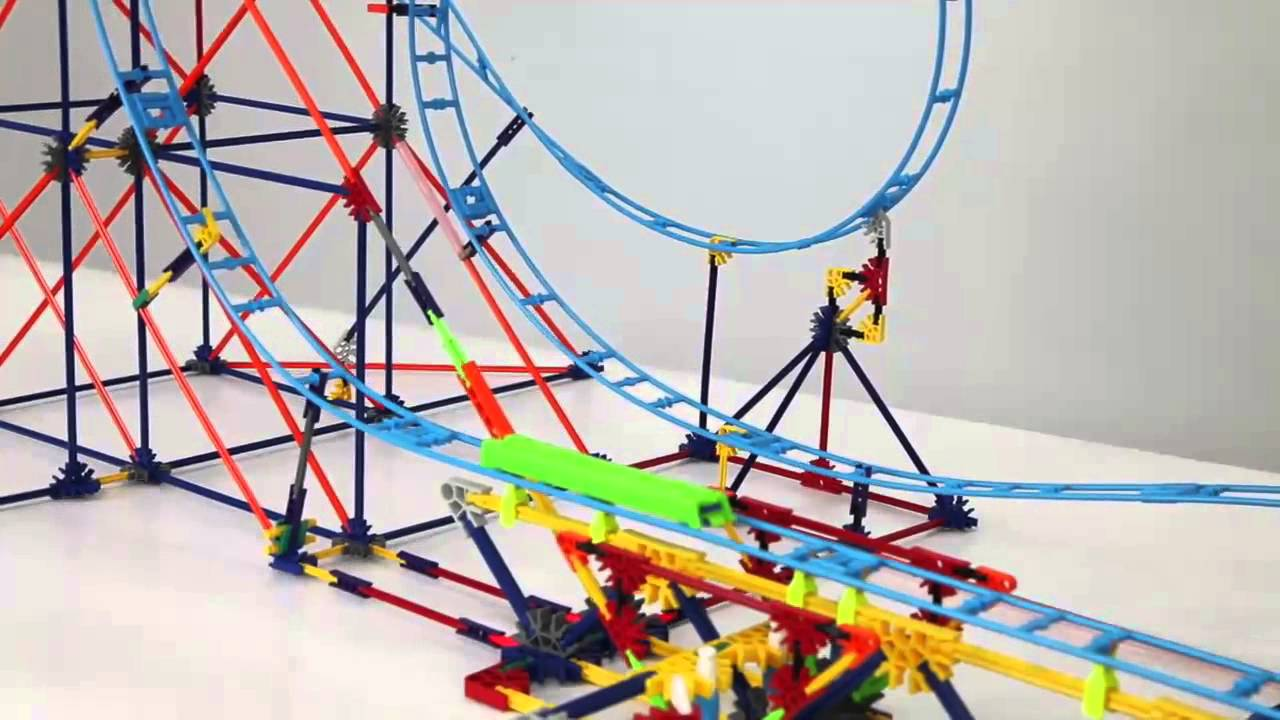 knex double shot roller coaster instructions