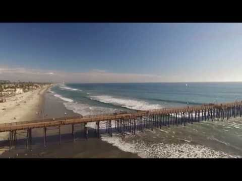 California-Mexico Dji Phantom 3 professional 1080