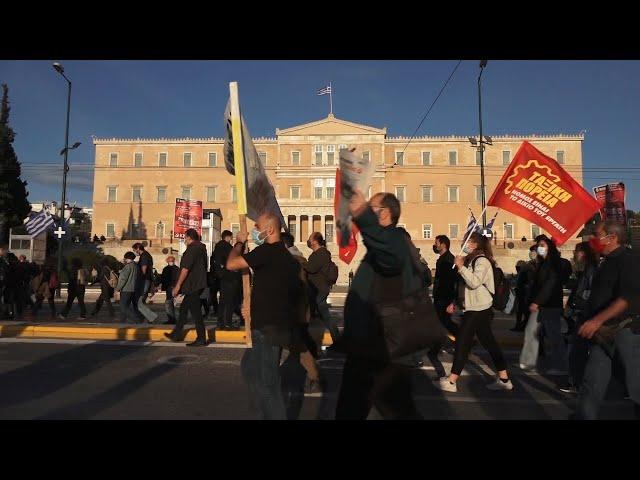 <span class='as_h2'><a href='https://webtv.eklogika.gr/' target='_blank' title='Πορεία διαμαρτυρίας εργατικών σωματείων'>Πορεία διαμαρτυρίας εργατικών σωματείων</a></span>