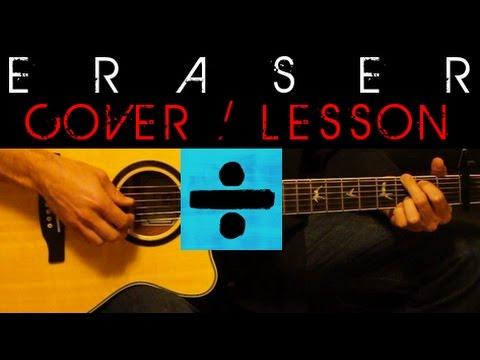 Eraser Ed Sheeran Cover Easy Acoustic Guitar Tutorial
