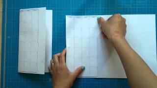 How to make/DIY the midori style calendar insert(, 2015-09-09T17:05:00.000Z)