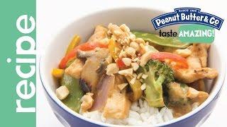Peanut Butter Chicken Stir Fry Recipe