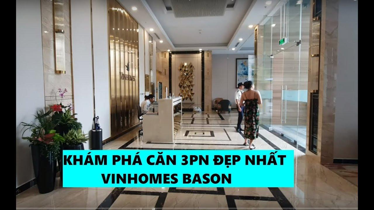 Căn hộ trực diện sông Sài Gòn 3PN Vinhomes Bason [ Khám phá bất động sản]