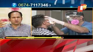 Corona Care  ENT Specialist Rajesh Padhi Shares Tips On Mask Use