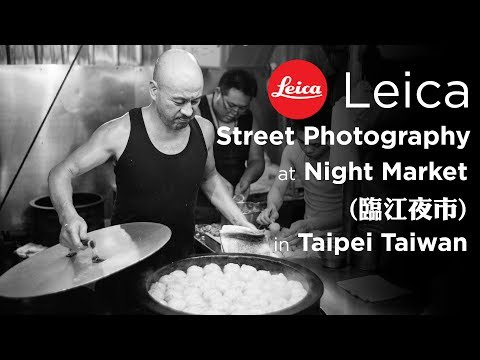 #4 LEICA STREET PHOTOGRAPHY at LingJiang Market in Taipei Taiwan POV in 4K w/ M240 Summilux 35mm