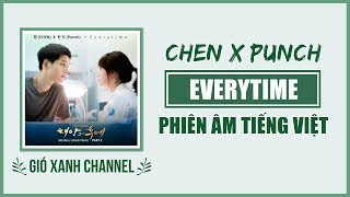 [Phiên âm tiếng Việt] Everytime - EXO Chen & Punch (Descendants of The Sun OST)