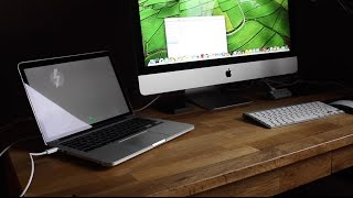 Target Disk Mode - Mac Als Externe Thunderbolt Festplatte - Tutorial - Theaskarum