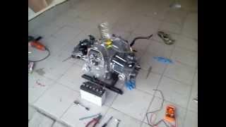 silnik dniepr z zewnętrznym filtrem oleju made in ukraina