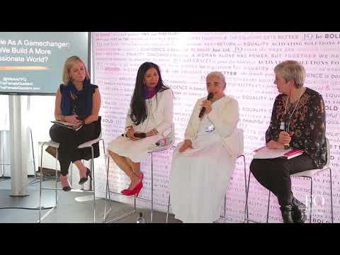 The Equality Lounge @ Davos 2018: The Golden Rule As A Gamechanger
