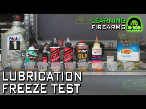 Gun Lube Freeze Test Part 1 Ep 1601