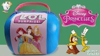 Принцессы Дисней Большой ЛОЛ Сюрприз Disney Princesses Custom Bigger Surprise