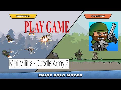 Mini Militia - Doodle Army 2 play store game  I   Game play