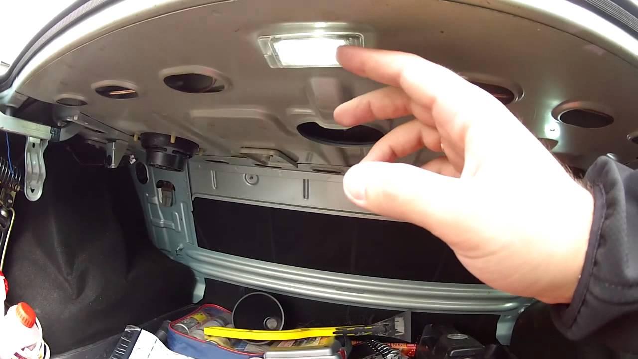 Логан дополнительное освещение в багажник