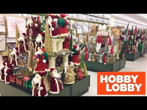 hobby-lobby-christmas-decorations-home-decor-shop-with-me-shopping-store-walk-through