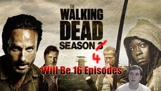 The Walking Dead Season 4 Will Be 16 Episodes!