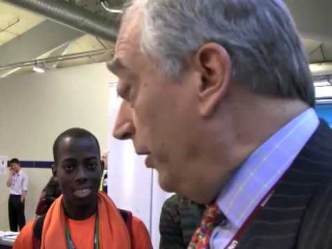 "Lord Monckton Invades SustainUS Booth - Calls U.S. students ""Hitler Youth"""