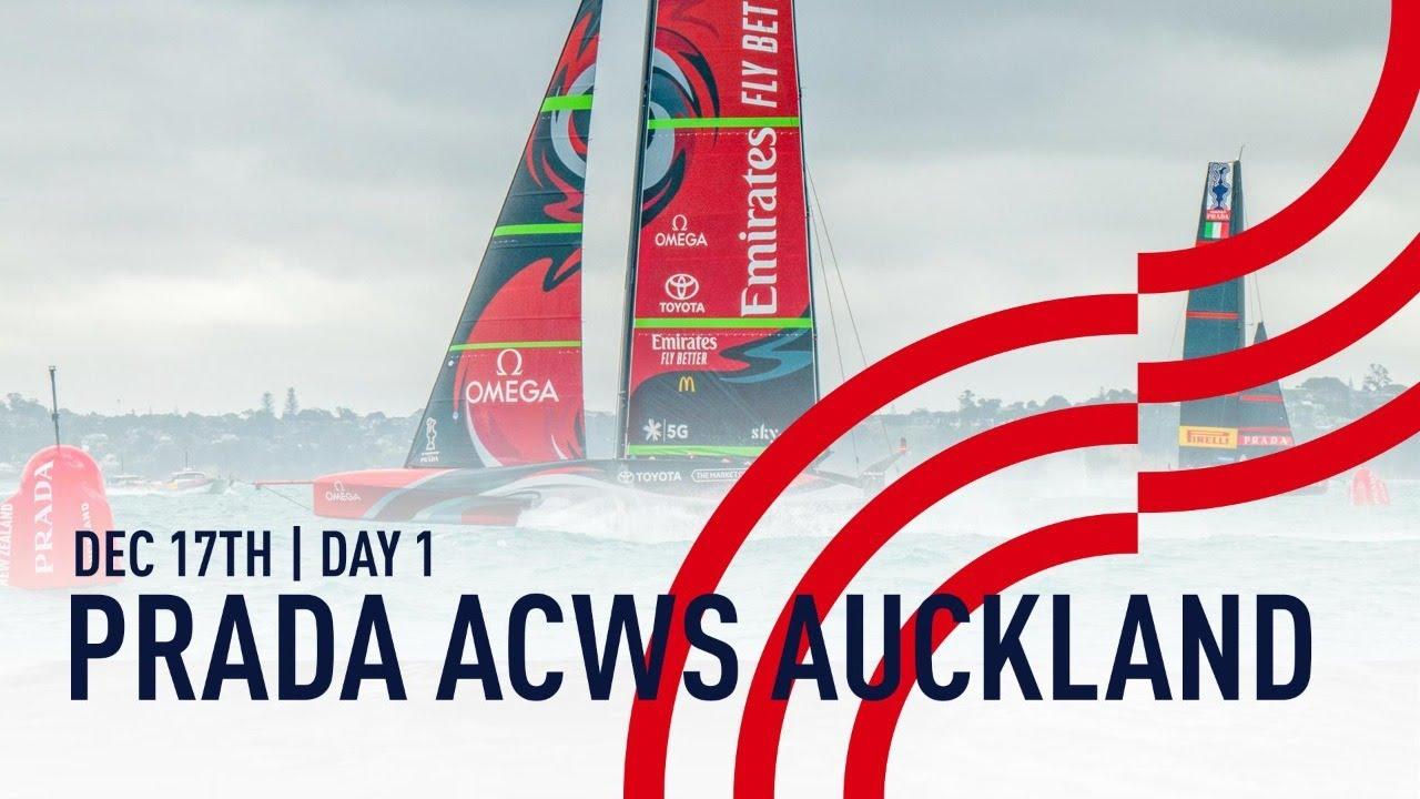 Full Race Replay | Day 1 | PRADA America's Cup World Series Auckland, NZ